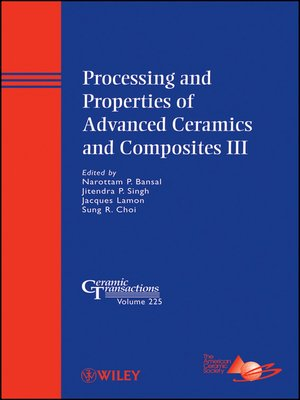 cover image of Processing and Properties of Advanced Ceramics and Composites III